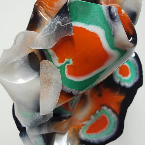 Epoxy Vaas Resin art Vase Antoynette Anema