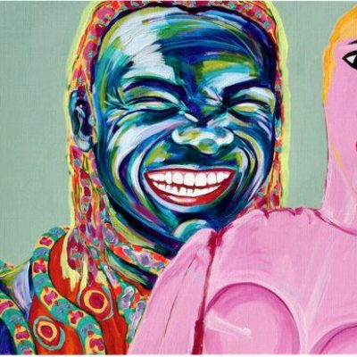 Stam Antoynette Anema schilderij